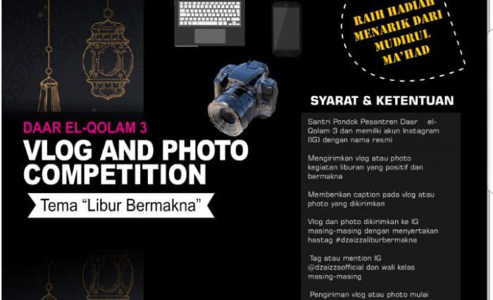 Vlog and Photo Competition #DzaIzzaLiburBermakna